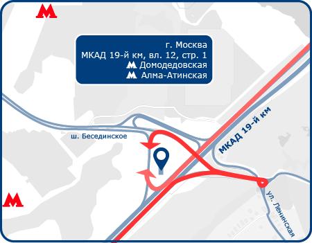 Техцентр Луидор на Домодедовской